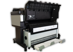 Ladybird II folding machine online to  HP T2530, T1530 et T3500, Wide paper fold machine for A0 A1 A2