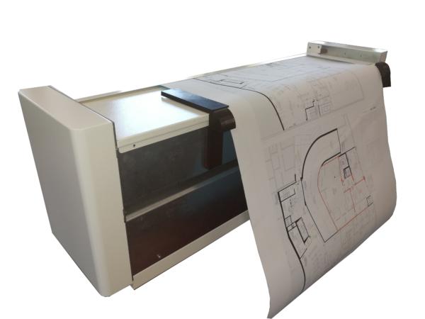 Offline paper fold machine