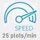 25 speed icon