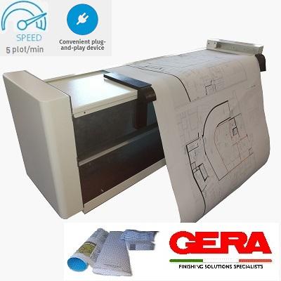 drawing map folding machine
