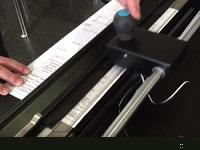 Taglierina di carta per piegatrice Gerafold 212