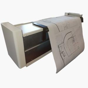 map drawing folding machine