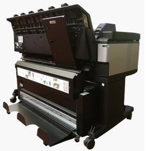 online paper fold machine GF300